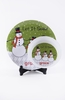 Personalized Christmas Plate & Bowl Set