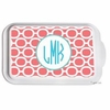 Personalized Circles Casserole Serving Dish