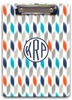 Personalized Clipboard - Monogram Circle