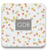 Personalized Coaster Set - Monogram Square