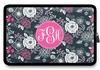 Personalized Cosmetic Bag - Monogram Circle