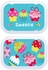 Personalized Cupcake Lunch Box - Pink