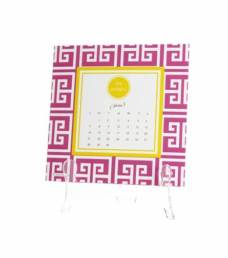 Personalized Desk Calendar in Multiple Designs