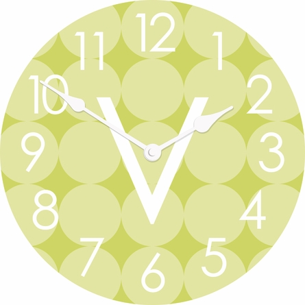 Personalized Dots Wall Clock
