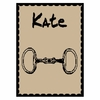 Personalized Equestrian Name Blanket