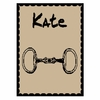 Personalized Equestrian Name Stroller Blanket