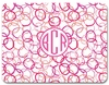 Personalized Floor Mat - Monogram Circle