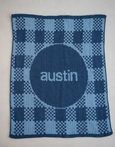 Personalized Gingham Blanket