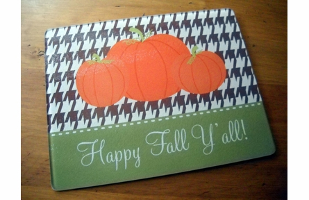 Personalized Halloween Large Cutting Board