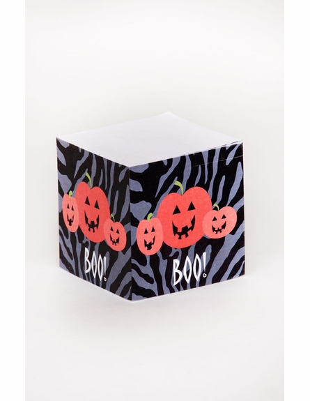 Personalized Halloween Note Cube