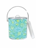 Lilly Pulitzer Personalized Ice Bucket in Silver Dollars
