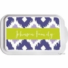 Personalized Ikat Casserole Serving Dish