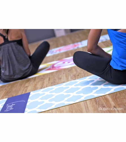 Personalized Ikat Funk Yoga Mat