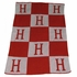 Personalized Initial and Blocks Stroller Blanket