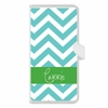 Personalized iPhone Wallet Case in Chevron