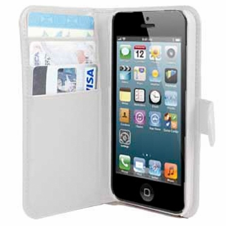 Personalized iPhone Wallet Case in Sailboats
