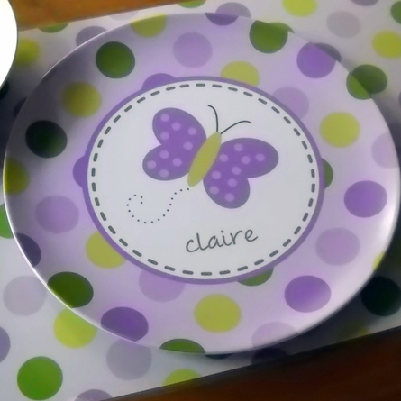 Personalized Kids Plate