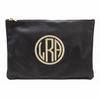 Personalized Monogram Large Zipper Pouch