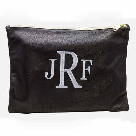 Personalized Large Zipper Pouch