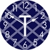 Personalized Lattice Wall Clock