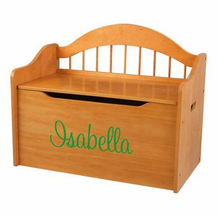 Personalized Limited Edition Toy Box - Honey