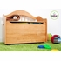 Personalized Limited Edition Toy Box - Natural