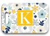 Personalized Luggage Tag - Single Initial Square