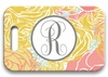 Personalized Luggage Tags - Single Initial Circle