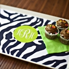 Personalized Melamine Tray