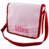 Personalized Messenger Bag in Pink