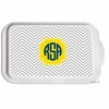 Personalized Mini Chevron Casserole Serving Dish