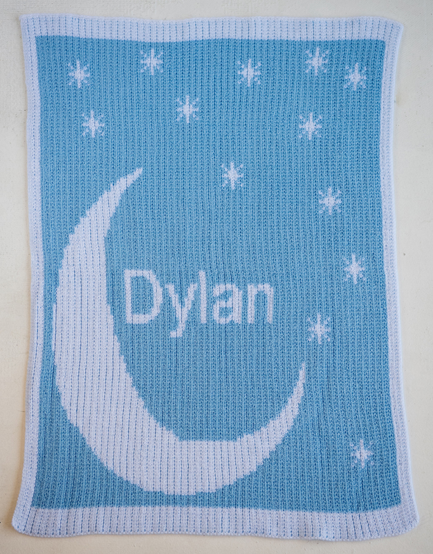 Personalized Moon Amp Stars Blanket Rosenberryrooms Com