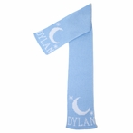 Personalized Moon & Stars Scarf