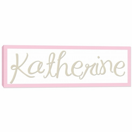 Personalized Name Canvas for Girls