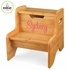 Personalized Natural Two Step Stool