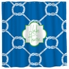 Personalized Nautical Ropes Shower Curtain