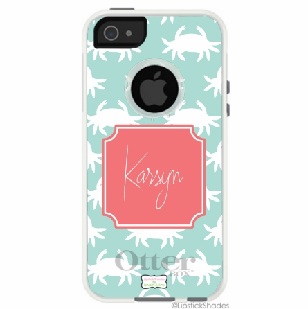 Personalized Otterbox iPhone Case in Crabby