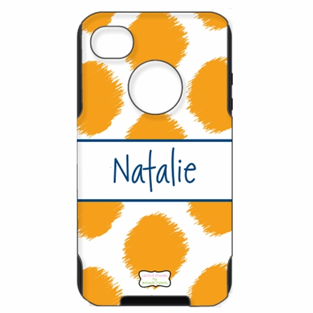 Personalized Otterbox iPhone Case in Ikat Funk