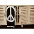 Personalized Peace Sign Blanket