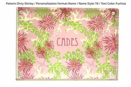 Lilly Pulitzer Personalized Picture Frame in Dirty Shirley