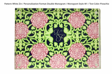 Lilly Pulitzer Personalized Picture Frame in Private Property