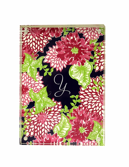 Lilly Pulitzer Personalized Picture Frame in White Zin