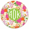 Personalized Plate - Monogram Circle