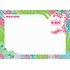 Lilly Pulitzer Personalized Recipe Box in Checking In