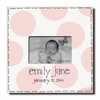 Personalized Retro Baby Rose Picture Frame