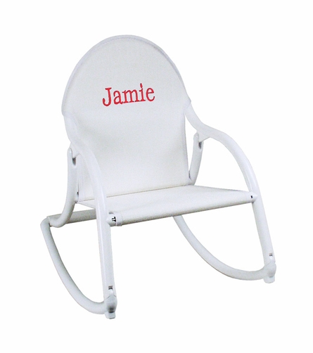 Personalized Rocking Chair
