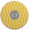 Personalized Round Cutting Board - Two Initials Circle