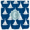Personalized Sailboats Shower Curtain