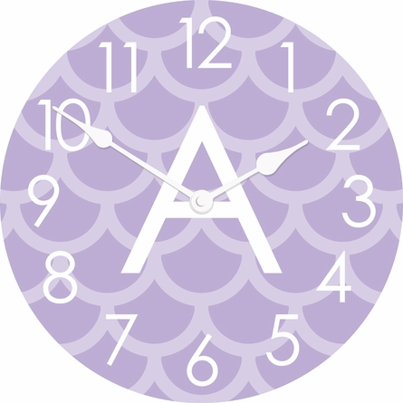 Personalized Scales Wall Clock