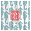 Personalized Sea Horses Shower Curtain